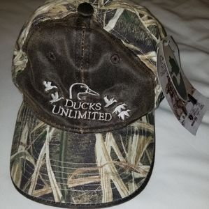 NWT 🦆 Ducks Unlimited Camo Hat
